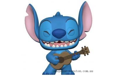 Lilo & Stitch S2 Stitch w/Ukelele Pop! Vinyl Figure Clearance Sale