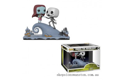 Nightmare Before Christmas Jack and Sally Funko Pop! Movie Moment Clearance Sale