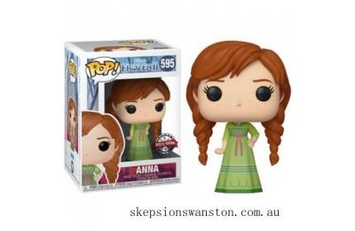 Disney Frozen 2 Anna Nightgown EXC Funko Pop! Vinyl Clearance Sale