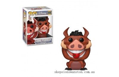 Disney Lion King Luau Pumbaa Funko Pop! Vinyl Clearance Sale