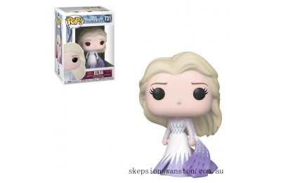 Disney Frozen 2 Elsa (Epilogue Dress) Funko Pop! Vinyl Clearance Sale