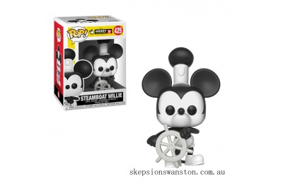 Disney Mickey's 90th Steamboat Willie Funko Pop! Vinyl Clearance Sale