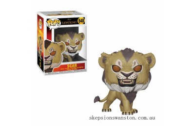 Disney The Lion King 2019 Scar Funko Pop! Vinyl Clearance Sale