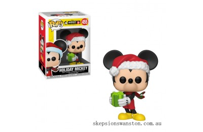 Disney Mickey's 90th Holiday Mickey Funko Pop! Vinyl Clearance Sale