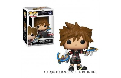 Disney Kingdom Hearts 3 Sora with Dual Blasters EXC Funko Pop! Vinyl Clearance Sale