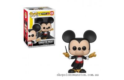 Disney Mickey's 90th Conductor Mickey Funko Pop! Vinyl Clearance Sale