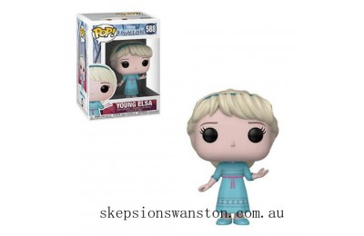 Disney Frozen 2 Young Elsa Funko Pop! Vinyl Clearance Sale