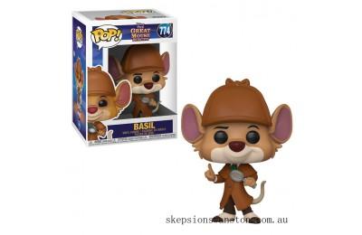 Disney Great Mouse Detective Basil Funko Pop! Vinyl Clearance Sale