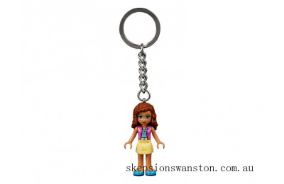 Clearance Lego Olivia Key Chain