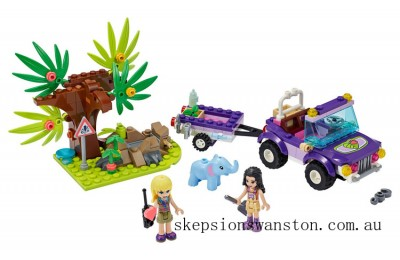 Clearance Lego Baby Elephant Jungle Rescue
