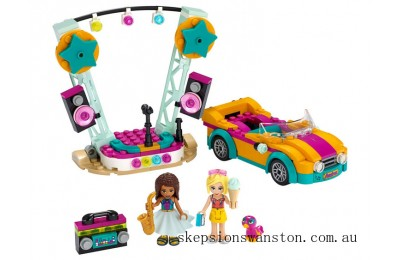 Clearance Lego Andrea's Car & Stage