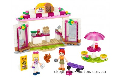 Discounted Lego Heartlake City Park Café
