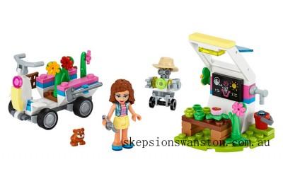 Genuine Lego Olivia's Flower Garden