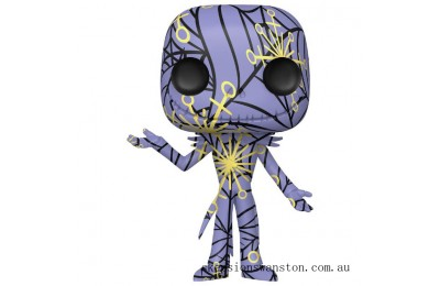 Disney Nightmare Before Christmas Jack with Case (Artist's Series) Funko Pop! Vinyl Clearance Sale