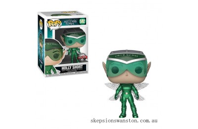 Disney Artemis Fowl Metallic Holly Short EXC Funko Pop! Vinyl Clearance Sale