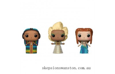 Disney A Wrinkle in Time 3 Mrs EXC Funko Pop! Vinyl 3-Pack Clearance Sale