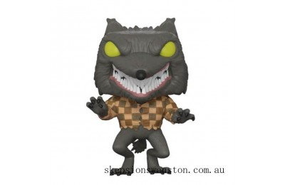 Disney Nightmare Before Christmas Wolfman EXC Funko Pop! Vinyl Clearance Sale
