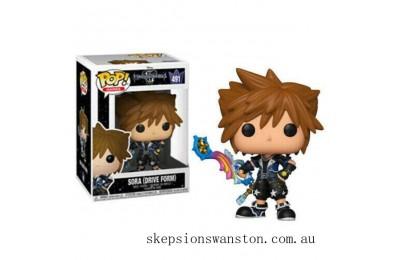 Disney Kingdom Hearts 3 Sora (Drive Form) EXC Funko Pop! Vinyl Clearance Sale