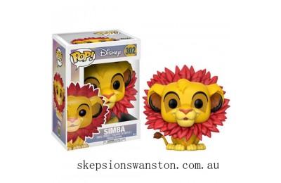 Lion King Simba (Leaf Mane) Funko Pop! Vinyl Clearance Sale