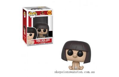 Disney Incredibles 2 Edna Jack-Jack EXC Funko Pop! Vinyl Clearance Sale