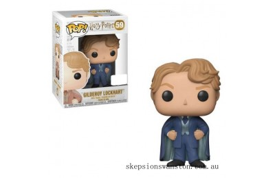 Harry Potter Gilderoy Lockhart with Blue Suit EXC Funko Pop! Vinyl Clearance Sale