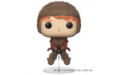 Harry Potter Ron on Broom Funko Pop! Vinyl Clearance Sale