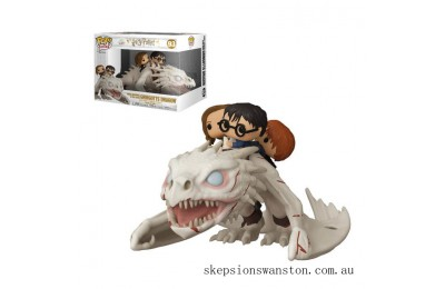 Harry Potter Dragon with Harry, Ron & Hermione Funko Pop! Ride Clearance Sale