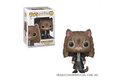Harry Potter Hermione as Cat Funko Pop! Vinyl Clearance Sale