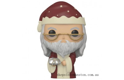 Harry Potter Holiday Albus Dumbledore Funko Pop! Vinyl Clearance Sale
