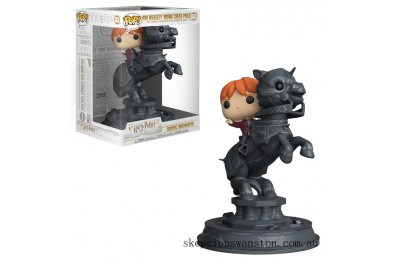 Harry Potter Ron Riding Chess Piece Funko Pop! Movie Moment Figure Clearance Sale