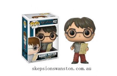 Harry Potter Harry with Marauders Map Funko Pop! Vinyl Clearance Sale
