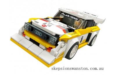 Clearance Lego 1985 Audi Sport quattro S1