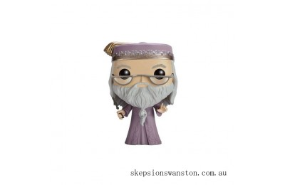 Harry Potter Dumbledore with Wand Funko Pop! Vinyl Clearance Sale