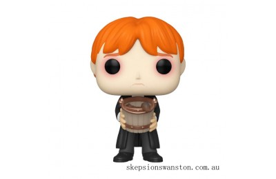Harry Potter Ron Weasley Puking Slugs with Bucket Funko Pop! Vinyl Clearance Sale