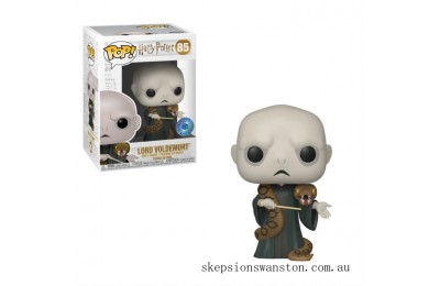 PIAB EXC Harry Potter Voldemort with Nagini Funko Pop! Vinyl Clearance Sale