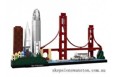 Hot Sale Lego Architecture San Francisco
