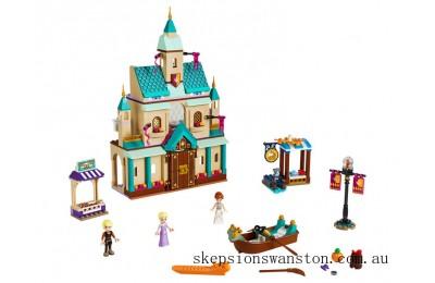 Genuine Lego Arendelle Castle Village