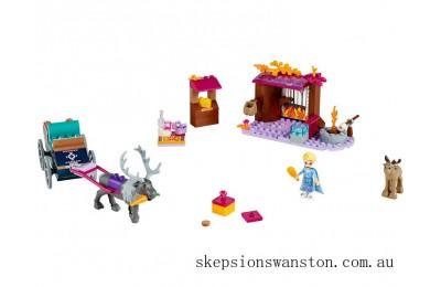 Genuine Lego Elsa's Wagon Adventure