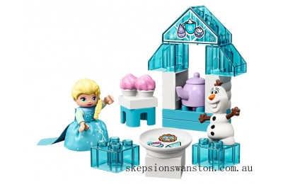 Discounted Lego Elsa and Olaf's Tea Party