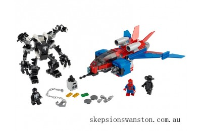 Discounted Lego Spiderjet vs. Venom Mech