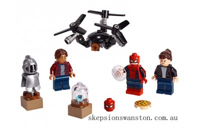 Genuine Lego Spider-Man and the Museum Break-In