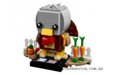 Genuine Lego Thanksgiving Turkey