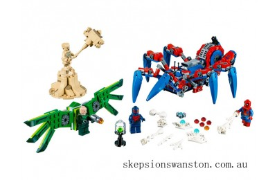 Genuine Lego Spider-Man's Spider Crawler
