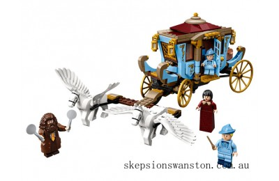 Clearance Lego Beauxbatons' Carriage: Arrival at Hogwarts™ poudlard