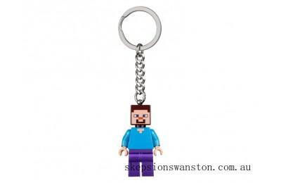 Clearance Lego Steve Key Chain