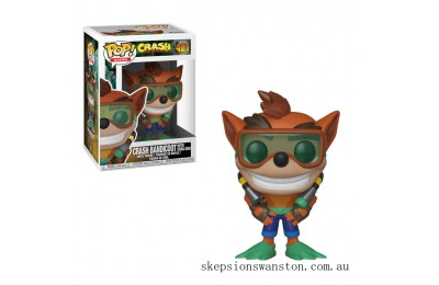 Crash Bandicoot Crash with Scuba Funko Pop! Vinyl Clearance Sale