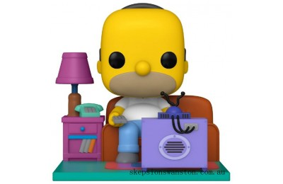 Simpsons Homer Watching TV Funko Pop! Deluxe Clearance Sale