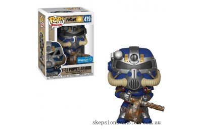 Fallout 76 Tricentennial Power Armor EXC Funko Pop! Vinyl Clearance Sale