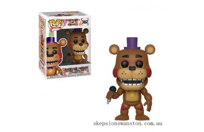 Five Nights at Freddy's Pizza Simulator Rockstar Freddy Funko Pop! Vinyl Clearance Sale