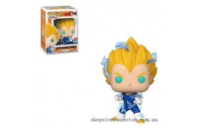 PX EXC Dragon Ball Z Super Saiyan 2 Vegeta Funko Pop! Vinyl Clearance Sale